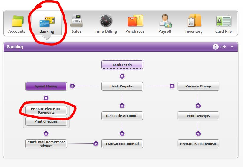 myob how to delete a payroll after prepare electronic payment