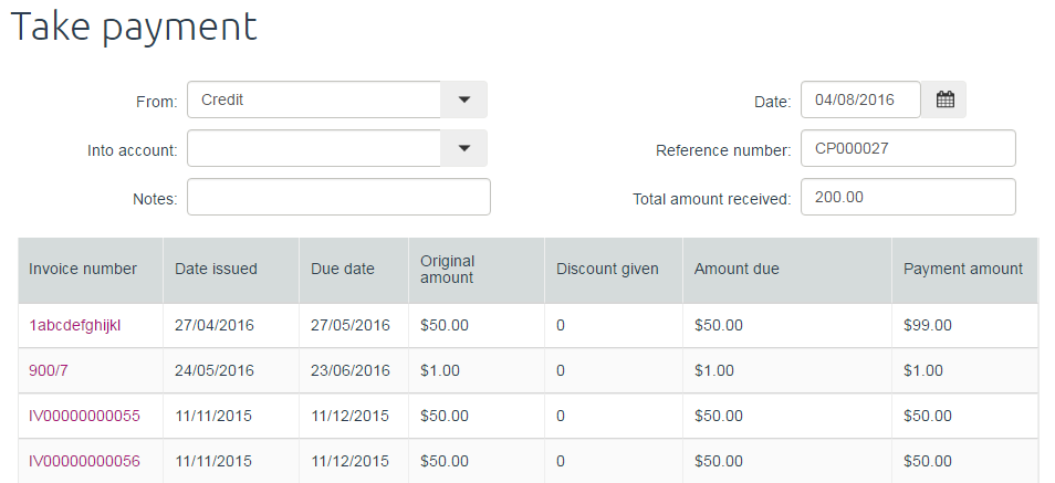 Solved how to create a credit note for an over payment myob attachmentsg thecheapjerseys Images