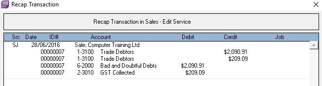 bad debt write off entry A bad debt can be written off using either the direct write off method or the provision method  the first approach tends to delay recognition of the bad debt expense  it is necessary to write off a bad debt when the related customer invoice is considered to be uncollectible otherwi.
