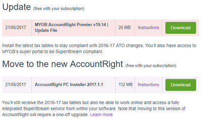 MYOB Upgrades available.PNG