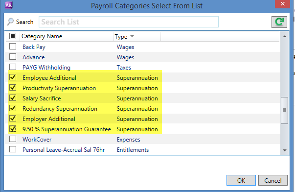 how to use payroll in myob