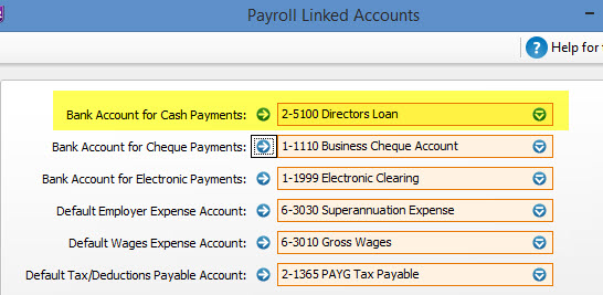 how to pay wages myob essentials
