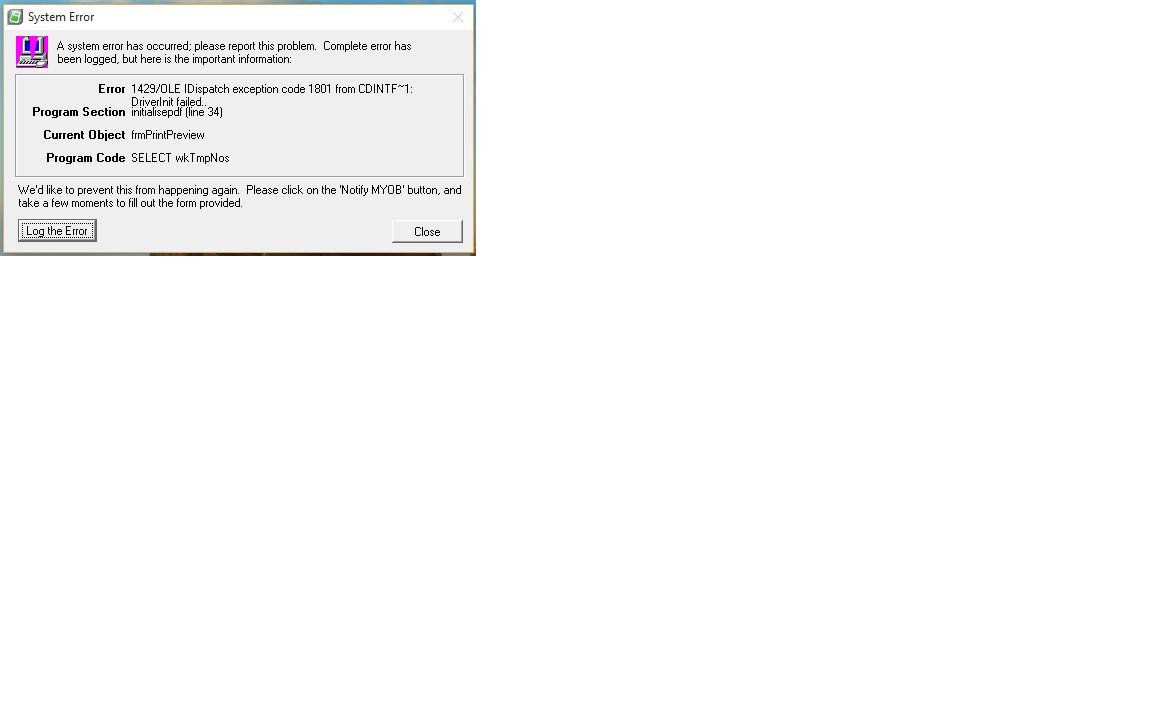 license key error for amyuni pdf