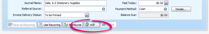 The WIP button. How we've missed you!