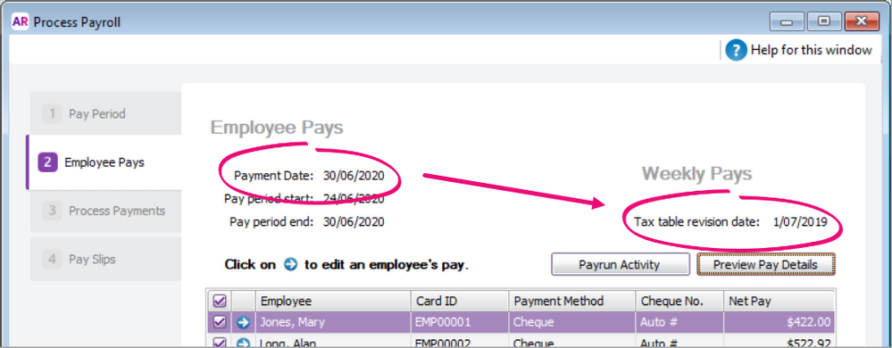 2020.2 Tax table revsion date shown when processing payroll.png