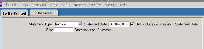 Open Statements MYOB Community - Open invoice statement