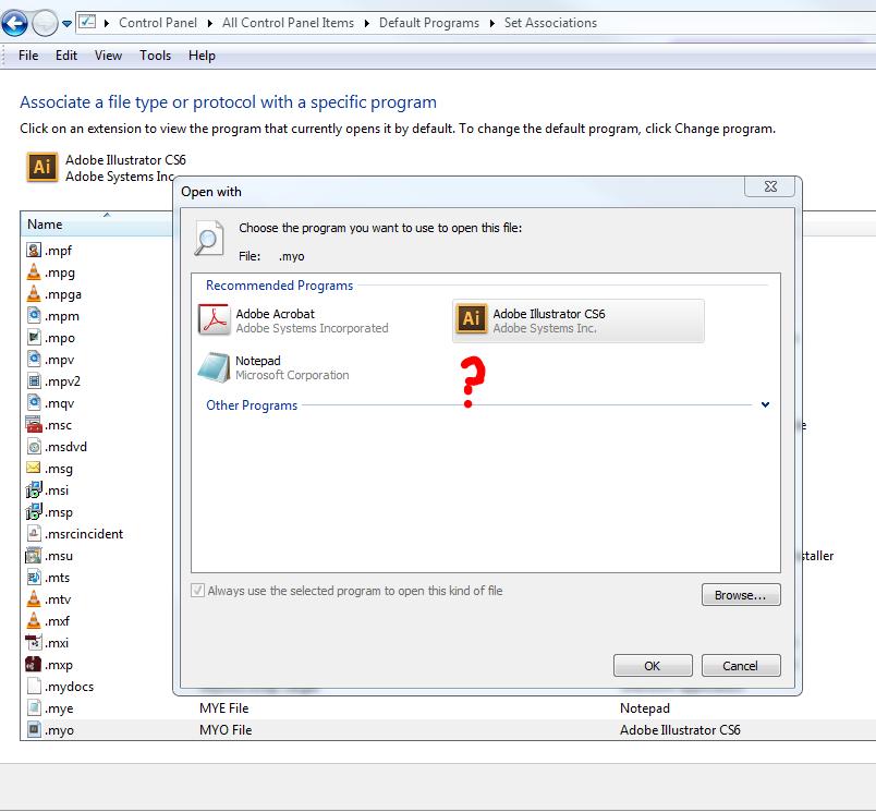Cant Associate MYO file v19 13 with MYOBp exe file    - MYOB