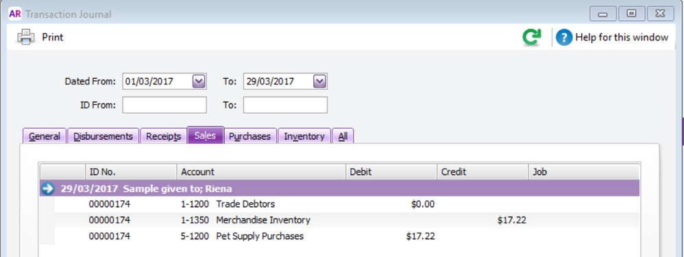 Solved: entering a discount for samples - sales invoice - MYOB Community