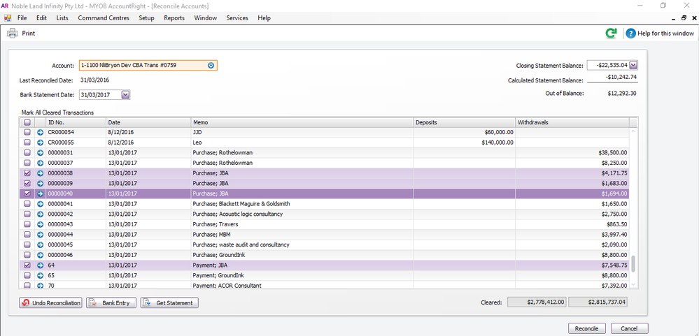 Invoice Purchased Not Paid In Bank Transaction L MYOB Community - Invoice not paid