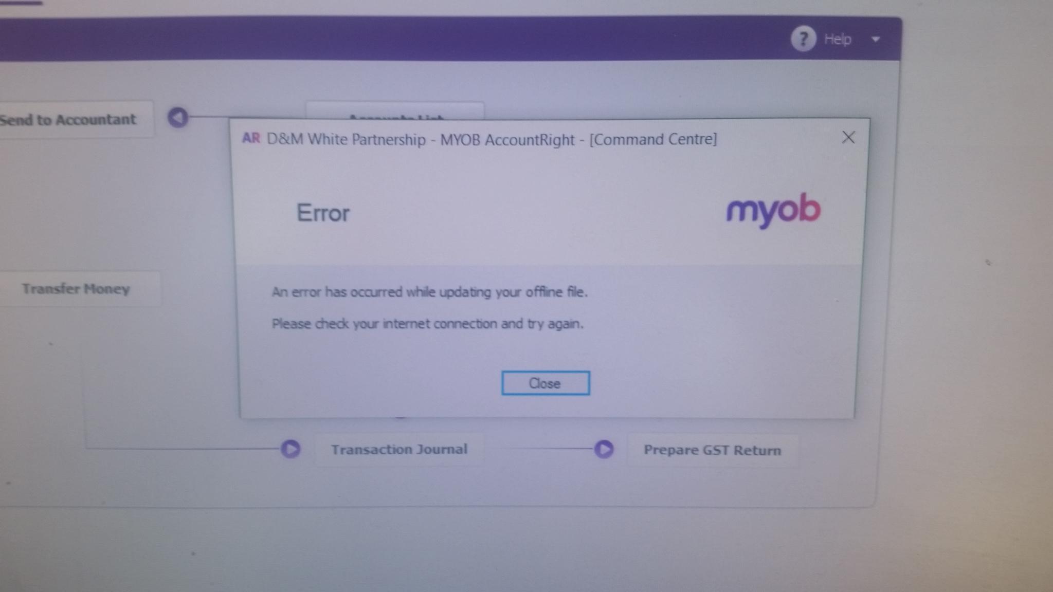 how to delete my myob account