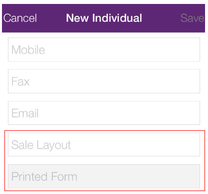 alternatively this is done from within the accountright program by selecting by navigating to the required customer card selling details tab and