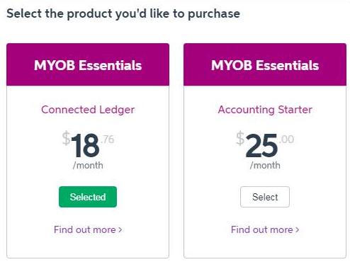 how to set up myob